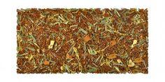Mistura redonda de efeito tonificante com rooibos, capim-limão, casca de laranja, pétalas de girassol e aroma natural de leite, manteiga e limão. O Rooibos, procedente de África do Sul, é rico em minerais e vitaminas. Perfeito para tomar a qualquer hora do dia já que não possui teína.