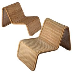 Pair of Tito Agnoli Lounge Chairs for Bonacina | From a unique collection of antique and modern chairs at https://www.1stdibs.com/furniture/seating/chairs/