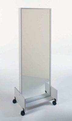 Silver Star Mirror - on casters - 32x74 inches
