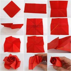 Read information on Origami Paper Folding Origami Rose, Origami Ball, Origami Paper Folding, Origami Star Box, Diy Origami, Origami Ideas, Origami Butterfly, Oragami, Origami Instructions