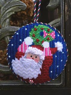Flat Ornament Finish, needlepoint starlight mint hard candy ...