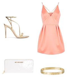 """""""OJ"""" by victoriabajer on Polyvore featuring moda, Topshop, Gianvito Rossi, Cartier i MICHAEL Michael Kors"""