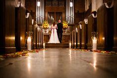 Gorgeous intimate wedding ceremony in Nashville. Photo by Nathan Mantor Photography. #weddingceremony #intimatewedding