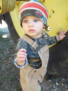 baby Carhartt overalls...my son when he is hunting with his daddy!