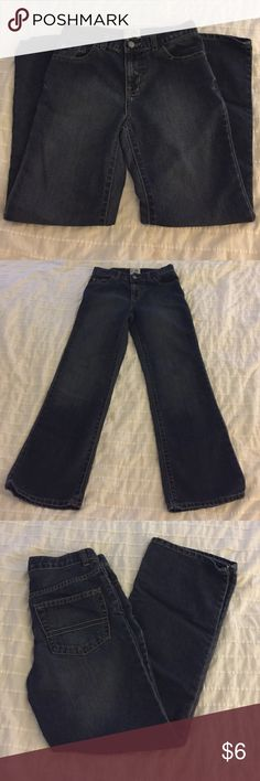 The Children's Place Boys Bootcut Denim Jeans Bootcut boy's jeans from The Children's Place, size 10 and in excellent like-new condition (worn once). Check out my closet for more boys' clothes, bundle and save! The Children's Place Bottoms Jeans