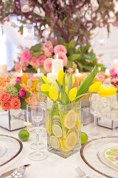Colours of Capri - WedLuxe Magazine Brunch Wedding, Wedding Table, Bridal Shower Decorations, Wedding Decorations, Brunch Party Decorations, Shower Centerpieces, Bridesmaid Luncheon, Bridesmaids, Birthday Brunch