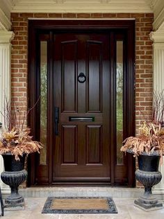Here is a sampling of our hand made Side Light Entry Doors. More designs are available and we can also help create your own custom design. Modern Entrance Door, Main Entrance Door Design, Wooden Front Door Design, Modern Wooden Doors, Modern Exterior Doors, Wood Exterior Door, House Front Design, Unique Front Doors, Entry Doors