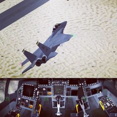 new 3D cockpit for the F-15E in #specialairwing