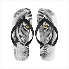 4eecfcc5b15d00 Love Nature Tiger Custom Slim Tropical Sexy Sandals Many Colors Any Size Flip  Flops for Men Women ( Partner Link)