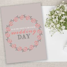 Wedding Day Invites £5.50 for 10 with envelopes #Bride #pretty