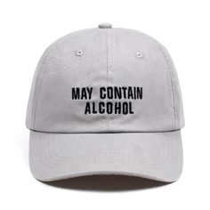 af376f7120a10 may contain alcohol Dad Hat Embroidery Cotton Baseball Caps Unisex Buzzword  Snapback Hat Brand Hats For Men Women Bone Casquette