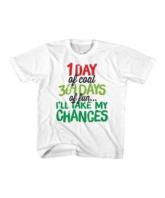 3c823be2660a jiminy christmas White  I ll Take My Chances  Tee - Toddler   Kids