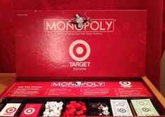 Don't Miss Out! Buy Today! Target Bullseye Monopoly Special Edition Board Game Collectible Memorabilia