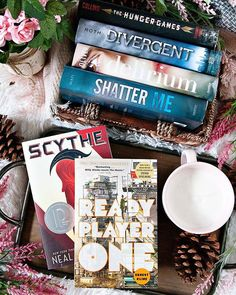 Happy FRIDAY Bookworms!! - Qotd: What fictional world(s) would you absolutely NOT want to live in?? - I absolutely would not want to live in any of the dystopian worlds pictured above. Nope no thank you. Reading about dystopian worlds is one thing can you imagine living in one?? (It could happen.) Though the virtual world in Ready Player One sounds kind of cool. What fictional world would you not want to live in?? - - Its Fridaaaaaaay!! I am so glad the weekend has arrived. I dont really…