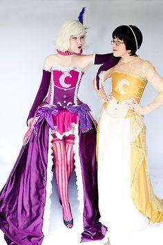 Roxy Lalonde and Jane Crocker (fancy!Derse/Prospit dreamers) - Homestuck