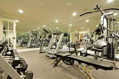 A home gym that I would enjoy working out it.