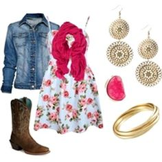 Cowgirl outfit, Maybe for the toby keith concert.