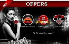 Visit PokaBunga.com today and relish the privilege of various offers and benefits to make your gaming experience even more exciting and rewarding. Get to enjoy various offers, schemes, rewards and benefits on a regular basis only at pokabunga.com. Register today, start your play and win multiple rewards.