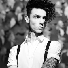 'I'll break it to you easy, I'm a hazard to myself' - Andy Black, We don't have to dance