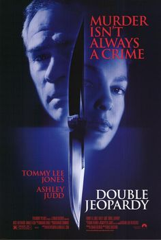 An interesting plot, but save Ashley Judd's presence, gets a tad mundane. Not very well-written | Double Jeopardy (1999)| Genre: Drama, Crime, Mystery, Thriller