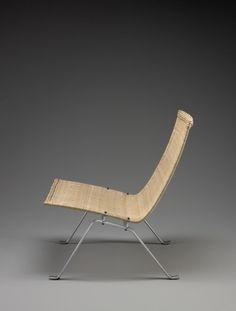 A chair called PK22, by Poul Kjaerholm