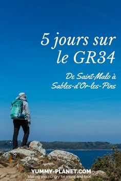 Itinerary for 5 days on the from Saint-Malo Yummy Planet Travelling Tips, Europe Travel Tips, Places To Travel, Road Trip France, France Travel, Hiking Spots, Camping And Hiking, Vacation Deals, Vacation Trips