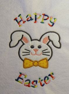 Easter Bunny Applique/Embroidery Design 3 by LMTEmbroideryDesigns Applique Embroidery Designs, Machine Embroidery Applique, Happy Easter, Easter Bunny, Hardware Software, Kids Rugs, Sewing, Creative, Fabric