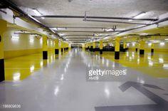 Stock Photo : Parking souterain