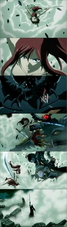 Erza in the Pandemonium - This is what makes Erza the most awesome female character in Fairy Tail