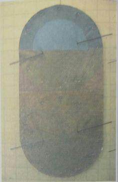 Şükrü Aysan : Urbi et Orbi,(1985). Karisik malzeme ve teknik.140×90 cm.