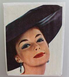 Jääkaappimagneetti: Ehostettu kaunotar Retro, Disney Characters, Vintage, Vintage Comics, Retro Illustration