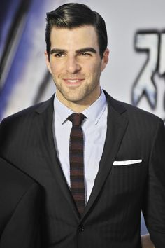 Actor Zachary Quinto attends the 'Star Trek Into Darkness' Japan Premiere at the Roppongi Hills on August 13, 2013 in Tokyo, Japan