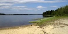 Ikkeläjärvi lake Kauhajoki, Finland.