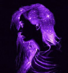 everyday a different color, beautiful gifs, soft goth, nature. Neon Purple, Purple Love, All Things Purple, Purple Rain, Shades Of Purple, Purple And Black, Violet Aesthetic, Dark Purple Aesthetic, Lavender Aesthetic