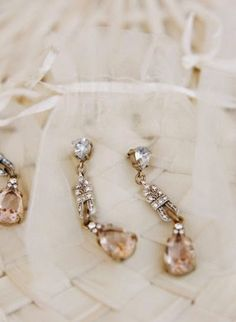 Tiny Crystal in Rose Gold Fill Studs, Pink Tourmaline Crystal Earrings. Raw Rough Pink Crystal and Gold Jewelry - Fine Jewelry Ideas Gold Wedding, Dream Wedding, Wedding Dress, Wedding Jewelry, Gold Jewelry, Wedding Earrings, Pink Tourmaline, Crystal Earrings, Bridesmaid Gifts