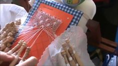 Bolilos: Como hacer araña ovalada, abierta o pececito