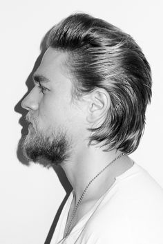 charlie hunnam and his pretty hair by t. richardson