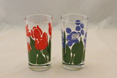 Vintage Anchor Hocking Tulip & Bluebell Glass by EleanorMeriwether, $14.00
