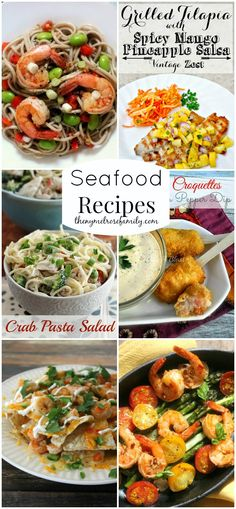Seafood Recipes www.thenymelrosefamily.com #seafood #recipes