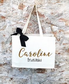 Personalized Tote Bag Tote Bag Beige Tote Bag от PaolaBrownShop