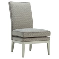 Cushioned accent chair with an eco-friendly hardwood frame and built-in legs. Made in the USA.   Product: ChairConstruct...