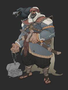 ArtStation - Sindbad the Dark Pirate , Hicham Habchi