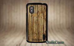 Nexus 4 case wood real Zebra wood case Vintage par UnikCase1