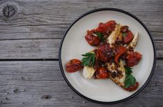 Day #54 Chicken with Roasted Tomatoes