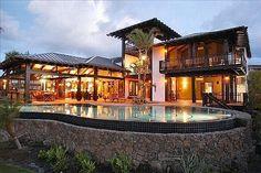 Private beach house Honolulu, Hawaii... Lovely