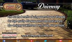 Our high-quality Driveway Pavers look great and are also designed to withstand cars, trucks, RVs and more. #pavers #repair #custom #walls #restoration #bricks #extension #pressure #washing #pool #deck #pooldeck #floors #estimate #elegant #patios #outdoor #stoops #barbecue #turf #stone #walways #orlando #tampa #tampbay #kissimmee #florida #fl #poinciana #usa #centralflorida