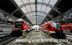 keeping your brand on track