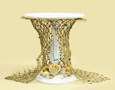 D.I.Y. Beach Themed Decorative Stand (Great for Cakes, Candles, and More!)