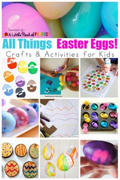 Easter Egg Crafts an