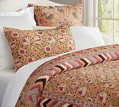 Reese Quilt & Sham #potterybarn  I want this but it is already out of stock!